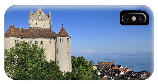 Meersburg Castle - Lake Constance Or Bodensee - Germany IPhone Case