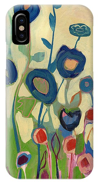 Poppies iPhone Case - Meet Me In My Garden Dreams Part A by Jennifer Lommers