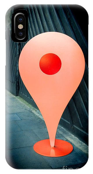 Navigation iPhone Case - Meet Me by Jasna Buncic