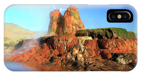 Meet The Fly Geyser IPhone Case