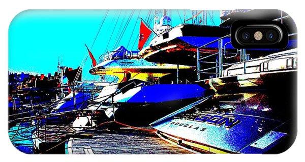 Mega Yachts IPhone Case