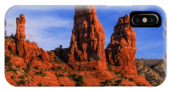 Megalithic Red Rocks IPhone Case