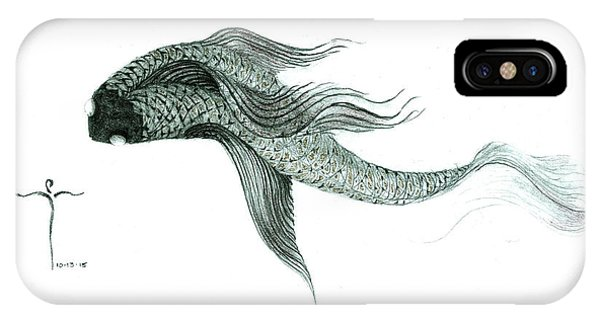 Megic Fish 1 IPhone Case