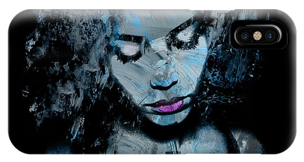 Digital Effect iPhone Case - Melancholy And The Infinite Sadness by Marian Voicu