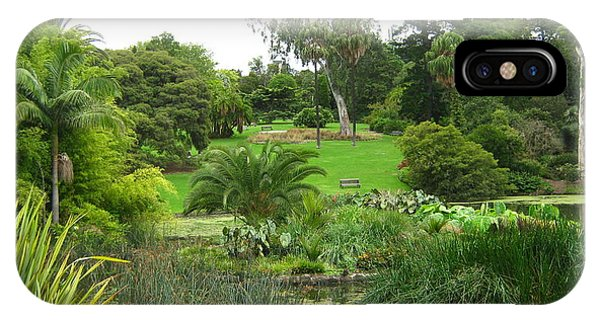Melbourne Botanical Gardens IPhone Case