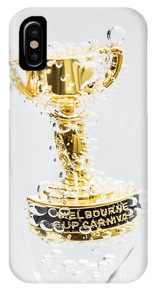 Achievement iPhone Case - Melbourne Cup Winners Trophy by Jorgo Photography - Wall Art Gallery