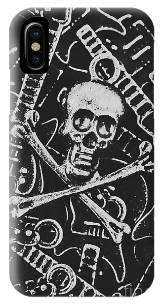 Punk Rock iPhone Case - Melodic Death Metal by Jorgo Photography - Wall Art Gallery