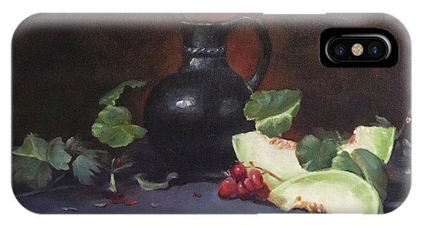 Melon And Vase IPhone Case