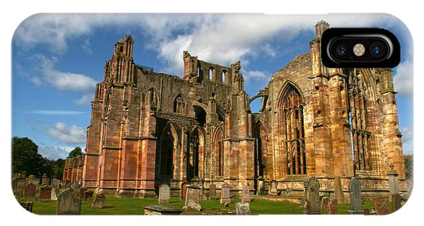 Melrose Abbey IPhone Case