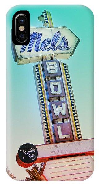 Mels Bowl Retro Sign IPhone Case