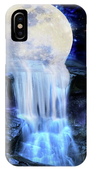 Melted Moon IPhone Case