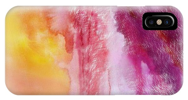 IPhone Case featuring the painting Melting by Mark Taylor