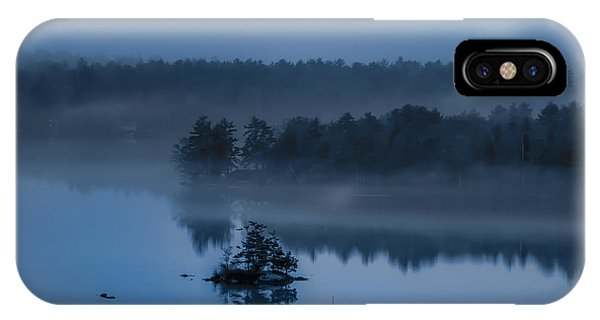 Melvin Bay Blues IPhone Case