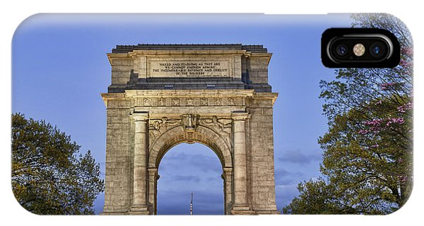 Revolutionary iPhone Case - Memorial Arch Valley Forge by John Greim