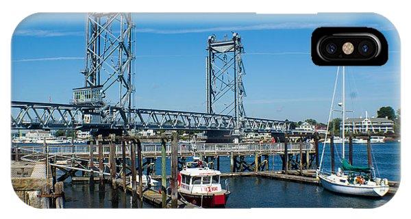 Memorial Bridge Portsmouth IPhone Case