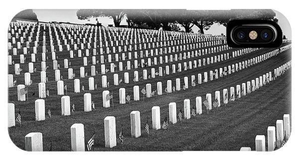 Memorial Day 2016 - Fort Rosecrans IPhone Case