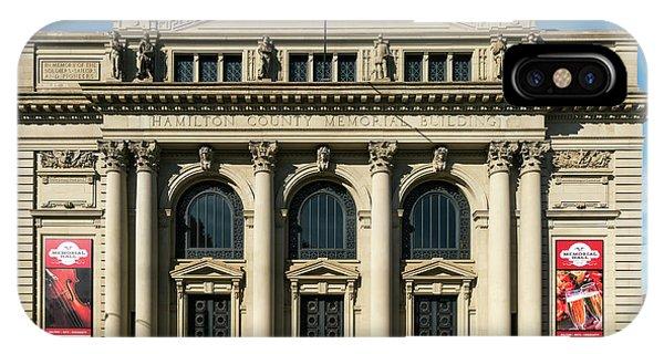 Memorial Hall IPhone Case