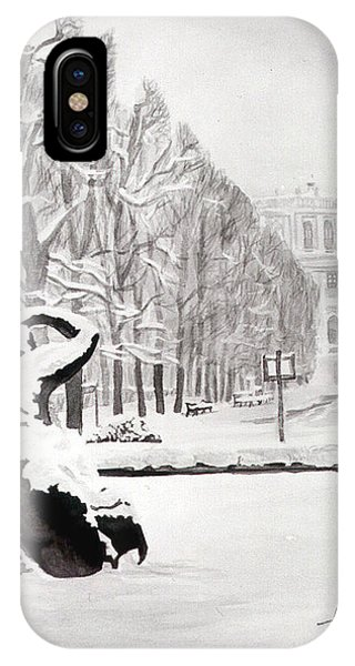 iPhone Case - Memorial Schoenbrunn by Johannes Margreiter