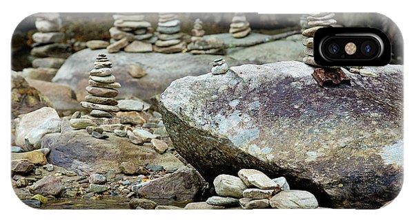 Memorial Stacked Stones IPhone Case