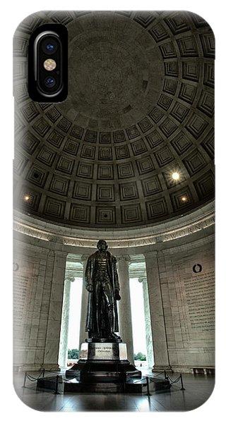 Memorial To Thomas Jefferson IPhone Case