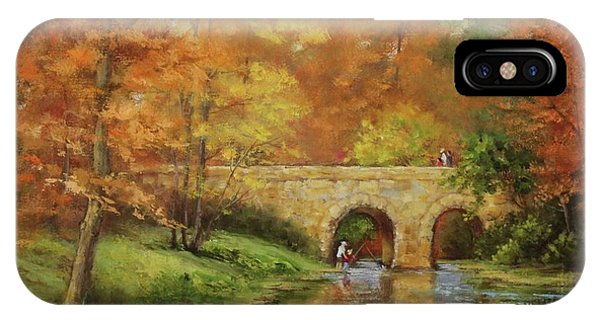 Memories At Stone Bridge IPhone Case