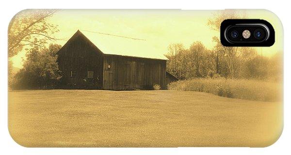 Memories Of Long Ago - Barn IPhone Case