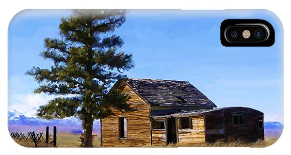 Memories Of Montana IPhone Case