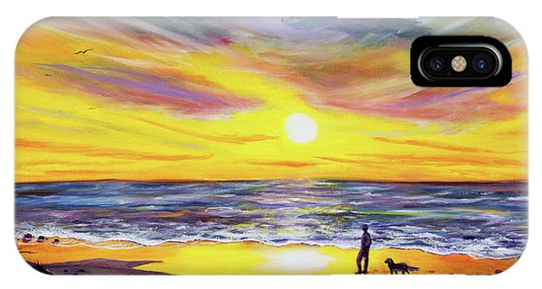 Monterey iPhone Case - Memories Of My Father by Laura Iverson