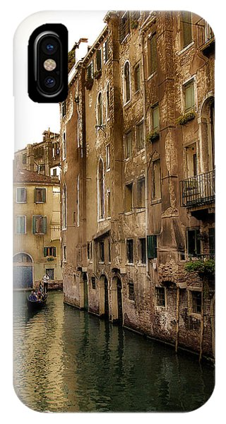 Memories Of Venice IPhone Case