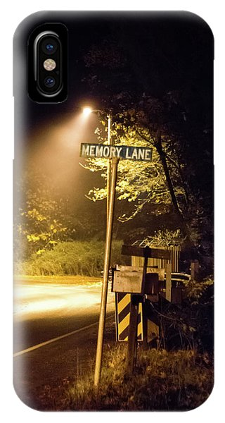 Memory Lane IPhone Case