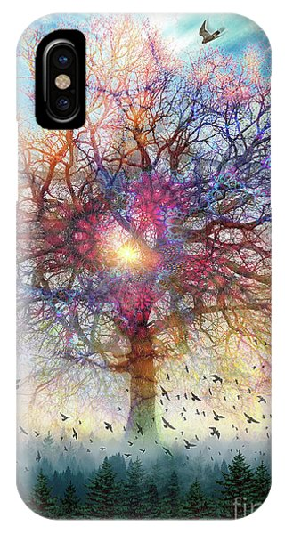 Memory Of A Tree IPhone Case