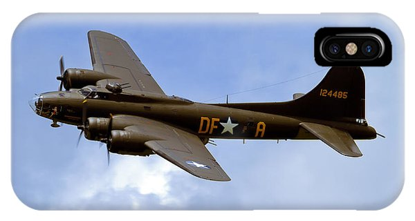 Bomber iPhone Case - Memphis Belle by Bill Lindsay