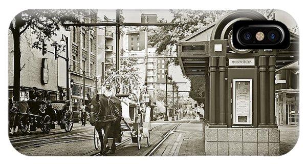 Memphis Carriage IPhone Case