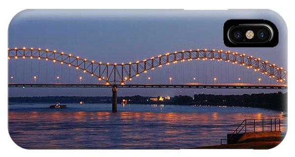Memphis - I-40 Bridge Over The Mississippi 2 IPhone Case