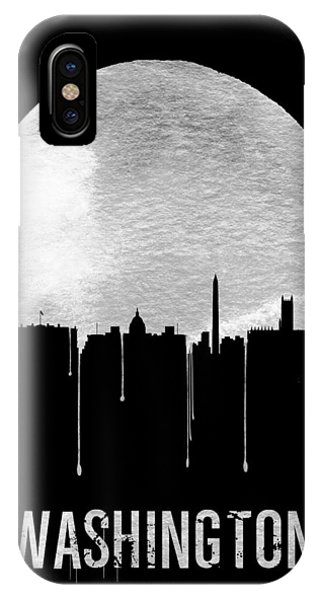 Memphis Skyline Black IPhone Case