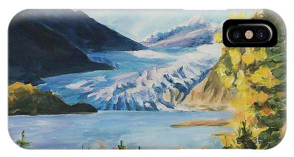 Mendenhall Glacier Juneau Alaska IPhone Case
