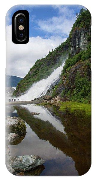 Mendenhall Waterfall IPhone Case