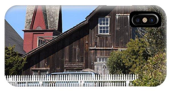Mendocino Barn IPhone Case
