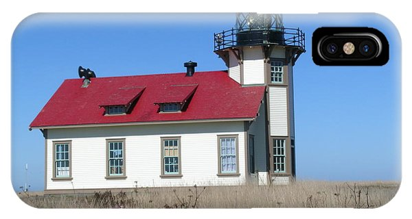 Mendocino Lighthouse IPhone Case