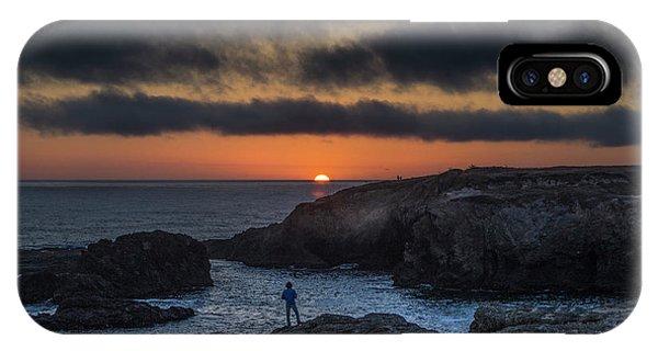 Mendocino Sunset IPhone Case