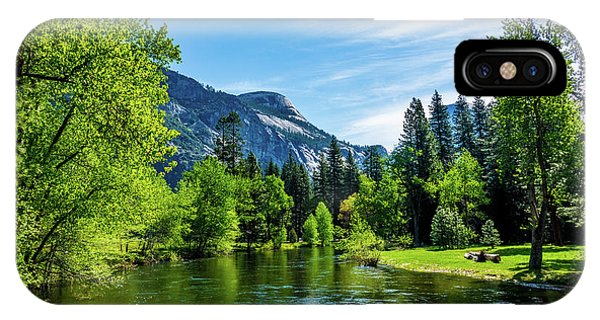 Merced River In Yosemite Valley IPhone Case