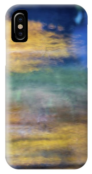 Nature Abstract iPhone Case - Merced River Reflections 12 by Larry Marshall