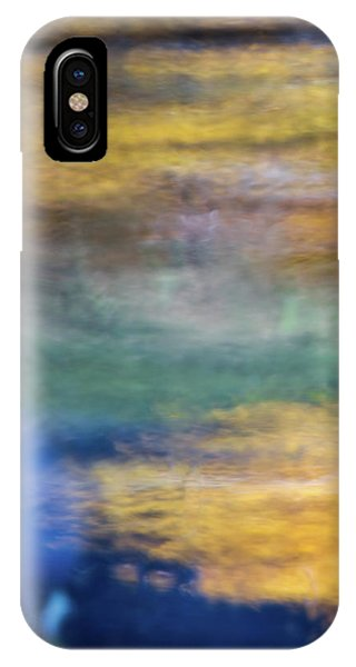 Water iPhone Case - Merced River Reflections 13 by Larry Marshall