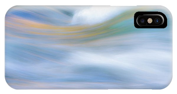 Water iPhone Case - Merced River Reflections 19 by Larry Marshall