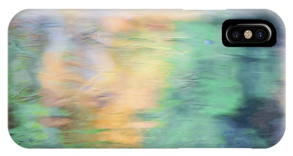 Nature Abstract iPhone Case - Merced River Reflections 7 by Larry Marshall