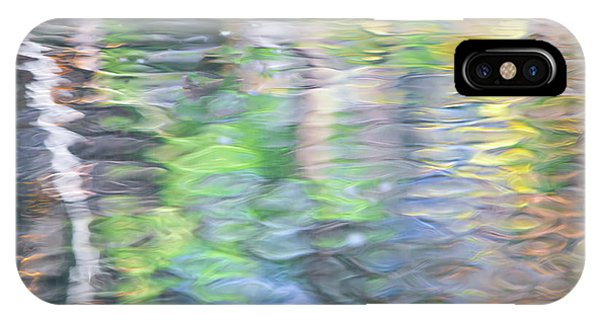 Water iPhone Case - Merced River Reflections 9 by Larry Marshall