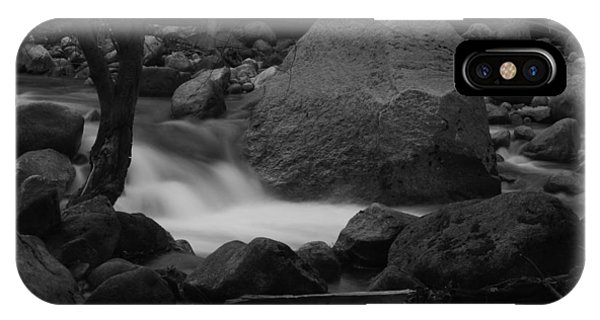 Merced River Rocks IPhone Case