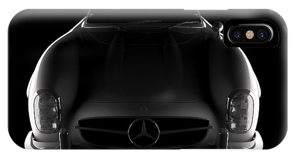 Mercedes 300 Sl Roadster - Front View IPhone Case