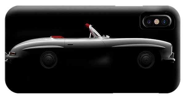 Mercedes 300 Sl Roadster - Side View IPhone Case