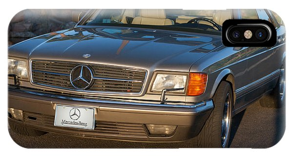 Mercedes 560sec W126 IPhone Case